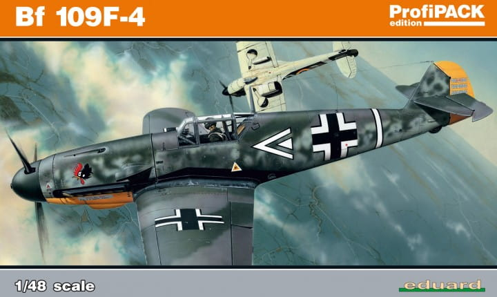 Eduard Models Bf 109F-4 - Profipack - / 1:48