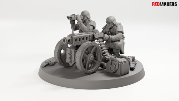 Bolter Gun - Death squad of Imperial force Heavy support