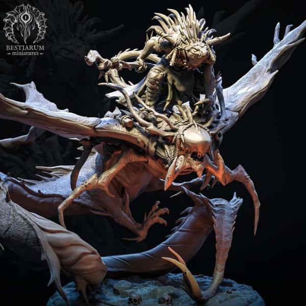 Sand Stingray with Shaman Rider