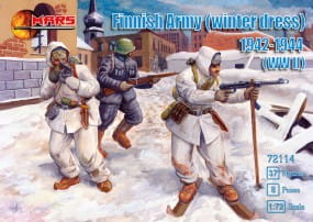 Finnish Army (winter dress) 1942-1944 / 1:72