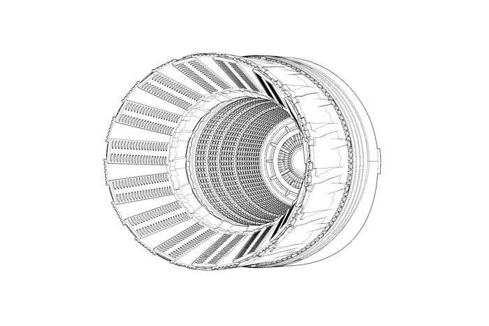 Brengun F-16C-D block 42-52 P&W F100 engine nozzle (Tamiya) / 1:48