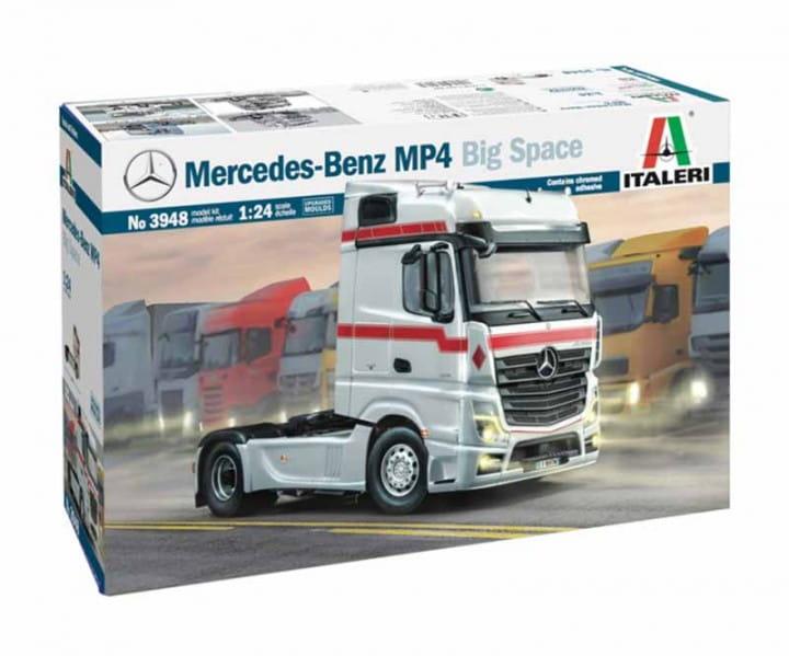 Mercedes-Benz MP4 Big Space / 1:24