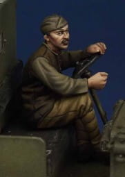 US Army driver WW I (for ICM Model T) / 1:35