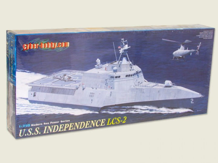 Cyber Hobby U.S.S. Independence LCS-2 / 1:350