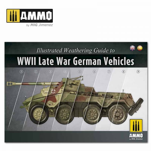 Illustrated Guide of WWII Late German Vehicles (Englisch / Spanisch)
