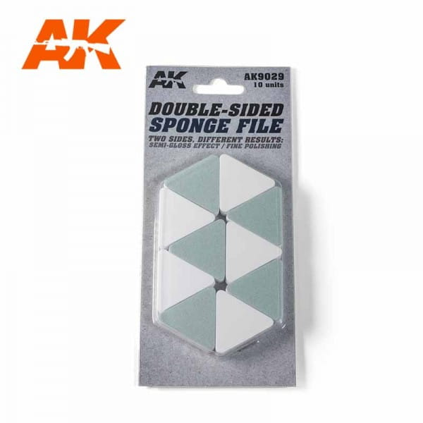 AK Interactive Doble-Sided Sponge File