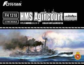 HMS Battleship Agincourt / 1:700
