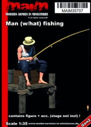 Man (with hat) fishing / 1:35