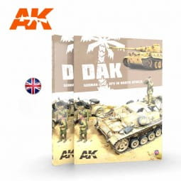 DAK German AFV in North Africa - Book - English