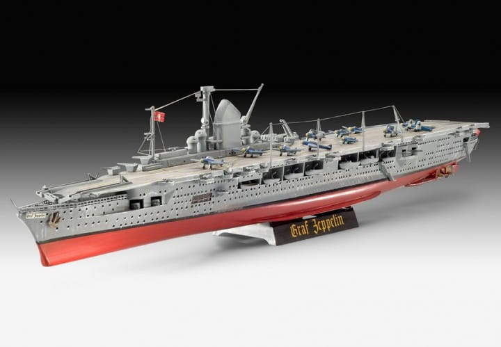 Revell German Aircraft Carrier GRAF ZEPPELIN / 1:720