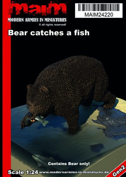 MAiM / Front46 Bear catches a fish / 1:24
