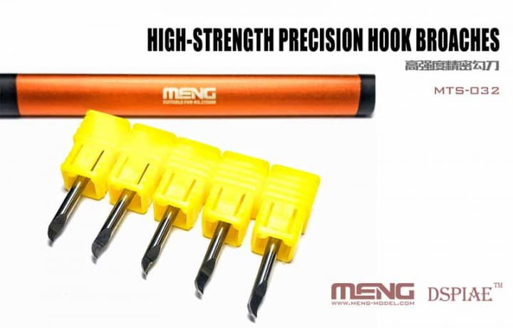 High-strength Precision Hook Broaches