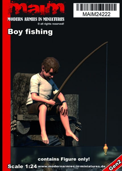 MAiM / Front46 Boy fishing / 1:24