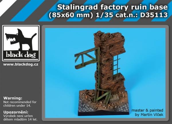 Stalingrad factory ruin base / 1:35