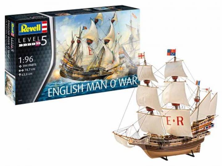 English Man O'War / 1:96