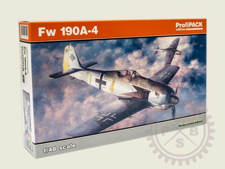 Eduard Models Fw 190A-4 - Profipack - / 1:48