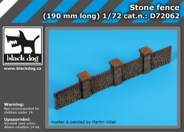 Stone fence / 1:72