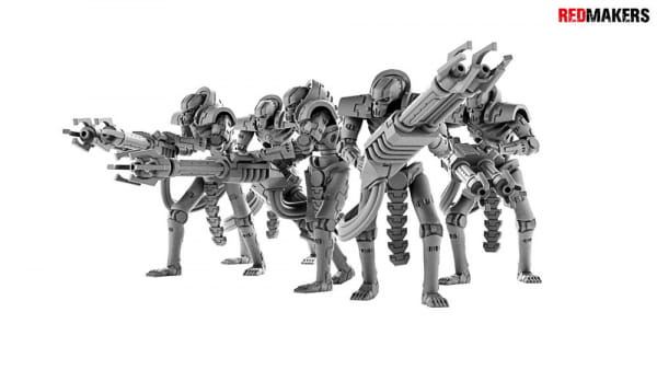 Immortal Robots from the Tomb World