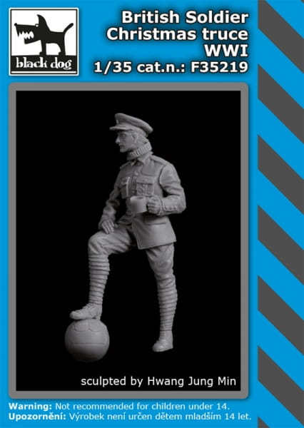 British soldier Christmas truce WW I / 1:35