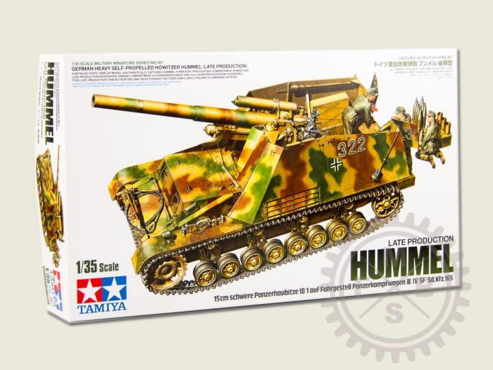 Tamiya Sd.Kfz.165 Panzerhaubitze Hummel - späte Ausführung / 1:35
