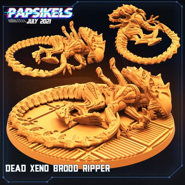 Xeno Brood Ripper dead