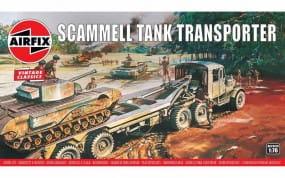 Airfix Vintage Classics - Scammel Tank Transporter / 1:76