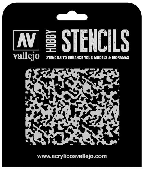 Vallejo Hobby Stencils: Weathered Paint 1/48 Markings