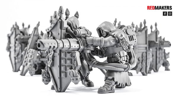 Lasergun - Janissaries - Heavy Support Squad of the Imperial Force