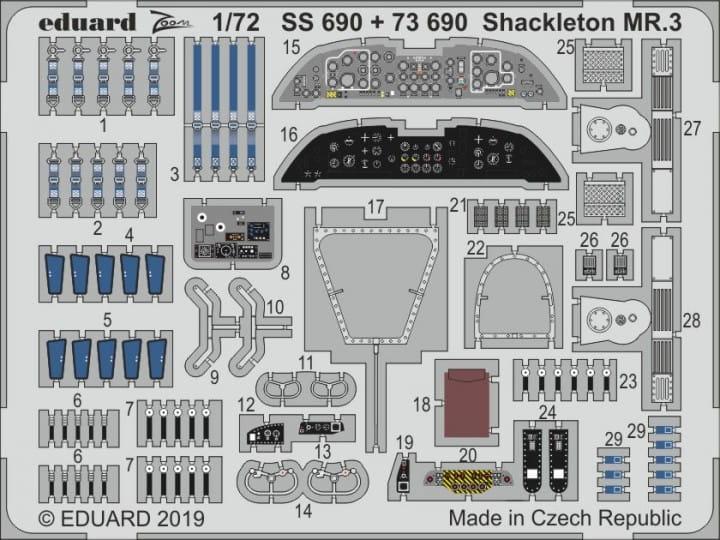 Shackleton MR.3 - Revell - / 1:72
