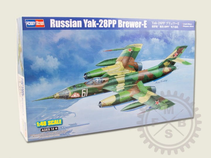Hobby Boss Russian Yak-28PP Brewer-E / 1:48
