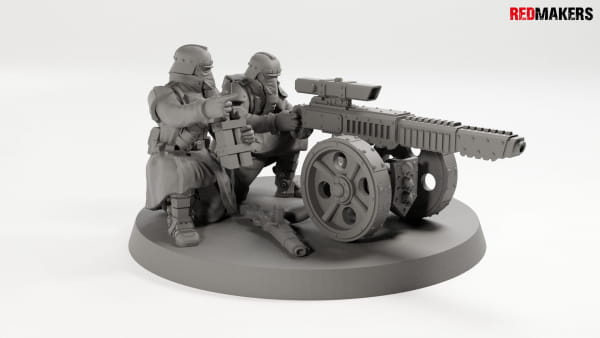 Laser Canon - Death squad of Imperial force Heavy support