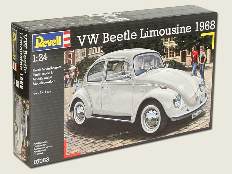 vw beetle limousine 1968 1 24 revell 07083. Black Bedroom Furniture Sets. Home Design Ideas