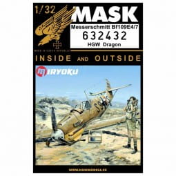 Bf109E-4/7 - Masks - Dragon / Cyber Hobby - / 1:32