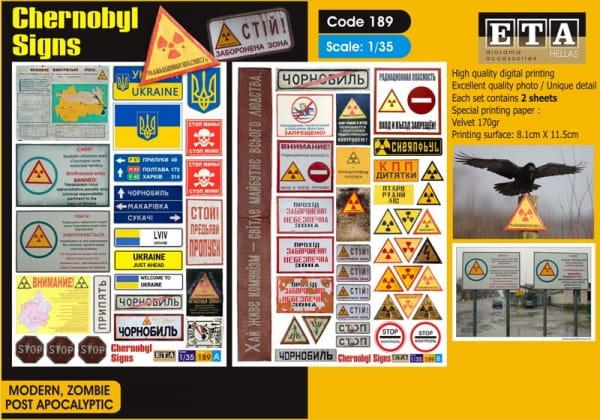 Chernobyl Signs / 1:35
