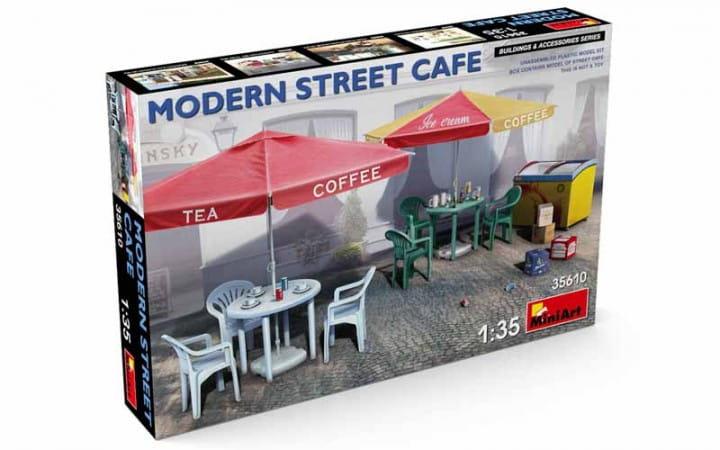 Modern Street Cafe / 1:35