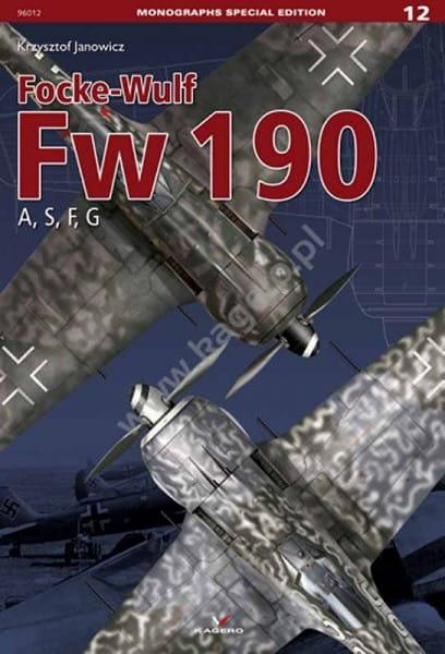 Kagero Kagero Monographs Special Edition 12: Focke-Wulf Fw 190 A, S, F, G