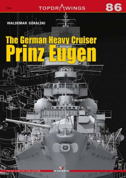 Kagero Kagero TopDrawings 86: The German Heavy Cruiser Prinz Eugen