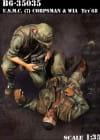 USMC Medic and WiA Tet68 / 1:35