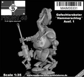 Gefechtsroboter ´´Hammerschlag`` -Schwabenland Army- Front46 / 1:35