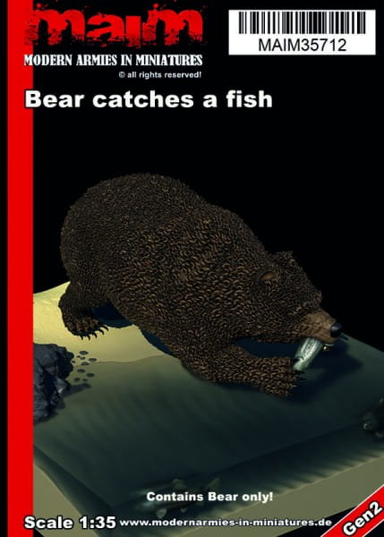 MAiM / Front46 Bear catches a fish / 1:35