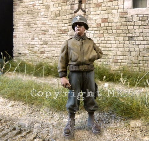 WWII US chaplain / 1:35
