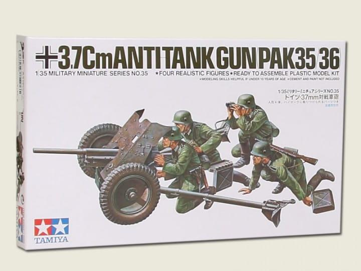 Tamiya 37mm PAK Kanone 35/36 / 1:35