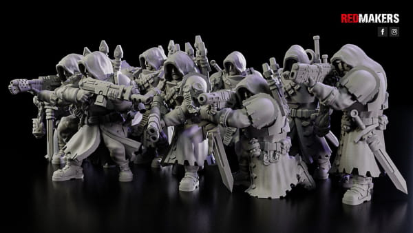 Janissaries - Squad of the Imperial Force; Mega Set #1 (10 Figures)