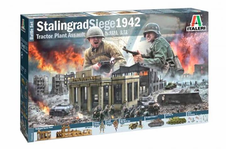 Battle Set Stalingrad Siege / 1:72