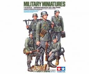 Figuren Set Deutsche Infanterie 1941 - 1942 / 1:35