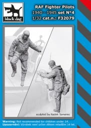 RAF fighter pilot - set N°4 / 1:32