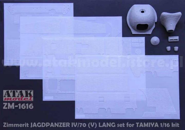 Zimmerit JAGPANZER IV/70 - Tamiya - / 1:16