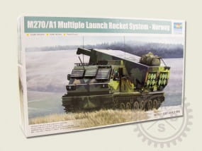 M270/A1 Multiple Launch Rocket System - Norway / 1:35