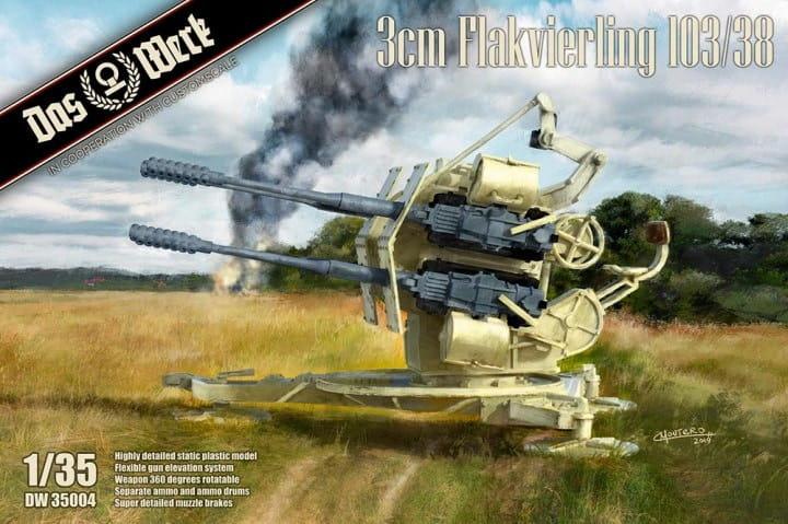 3cm Flakvierling 103/38 / 1:35
