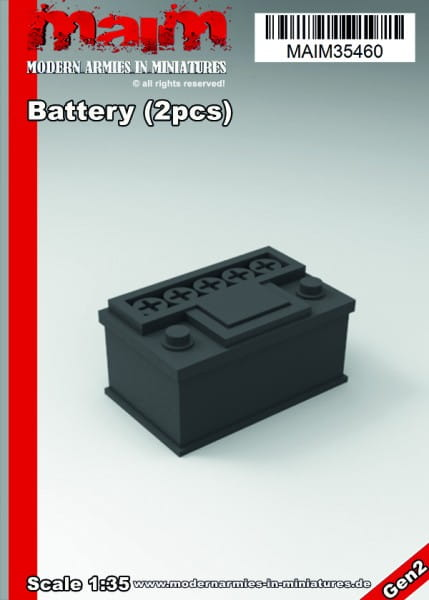 MAiM / Front46 Battery (2pcs) / 1:35
